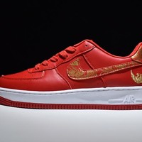 Nike Air Force 1 One Low Premium Lunar New Year iD Running Sport Casual Shoes Phoenix 919729-992 Sneakers