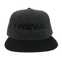 Logo Dark Grey/Black Snapback : IP00 : MerchNOW - Your Favorite Band Merch, Music and More