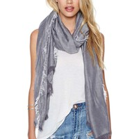 Wrap Me Up Fringe Scarf