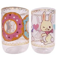 Happy layered glass donut rabbit - ONLINE SHOP - SWIMMER