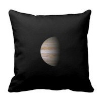 Planet Jupiter Pillow