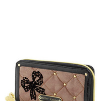Betsey Johnson Quilt to be Tied Wallet | Mod Retro Vintage Wallets | ModCloth.com