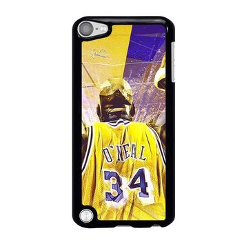 SHAQUILLE O'NEAL LA LAKERS iPod Touch 5 Case Cover