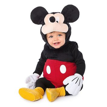 Authentic Disney Store Halloween Mickey Mouse Padded Baby Boy Costume 18-24M