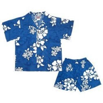 waves hawaiian boy cabana set