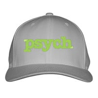 Psych Design Embroidered Baseball Cap