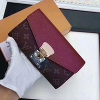 PEAPON Louis Vuitton  Women Leather Multicolor Wallet Purse