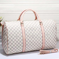 Louis Vuitton LV Women Leather Luggage Travel Bags Tote Handbag