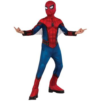 Spider-Man Homecoming Child's Costume, Small, Multicolor