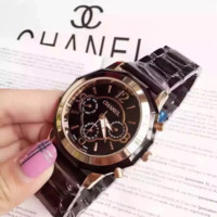 """CHANEL"" Women Fashion Simple Quartz Watch Casual Wristwatch"
