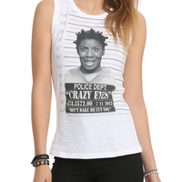 Orange Is The New Black Crazy Eyes Mugshot Muscle Girls Top