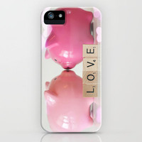 Piggy Love iPhone Case by kelly*n photography | Society6