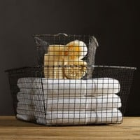 Pool Locker Baskets | Baskets  Totes | Restoration Hardware