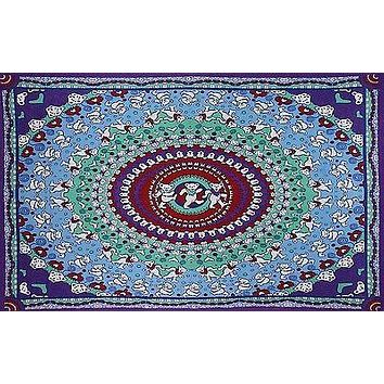 Cotton Grateful Dead Tapestry Wall Hang Classic Dancing Bear 30x45 60x90 inches