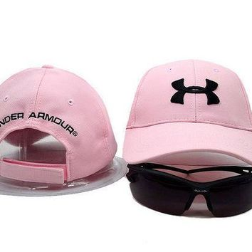 CREY9N Under Armour Women Men Sunhat Embroidery Sport Baseball Cap Hat