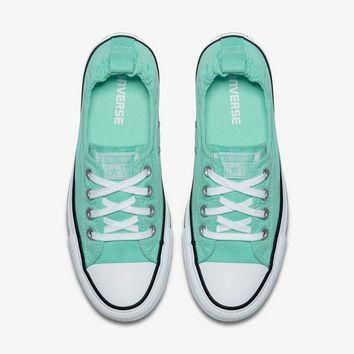 Converse Chuck Taylor All Star Shoes Shoreline Slip for Women in Green Glow 556690F