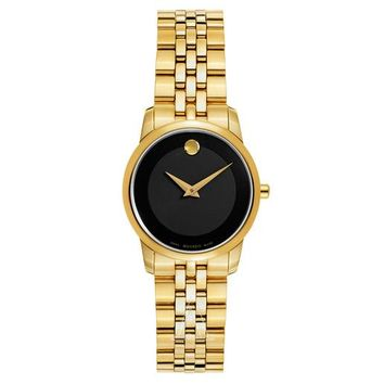 Movado Museum Gold-Tone Watch 0607005