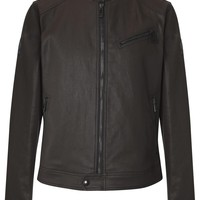 Belstaff Tunstall dark brown coated jacket