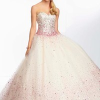 Mori Lee 95006 Prom Dress - PromDressShop.com
