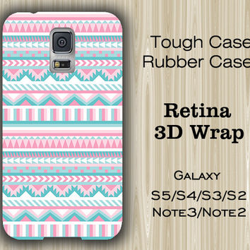 Pink Geomeric Ethnic Samsung Galaxy S5/S4/S3/Note 3/Note 2 Case