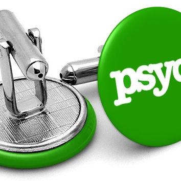 Psych TV Logo Cufflinks