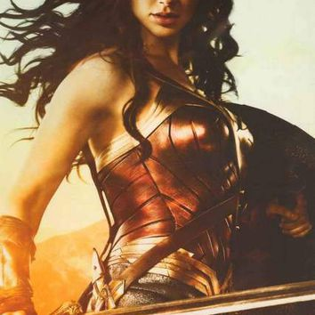 Wonder Woman Sword and Shield Poster 24x36