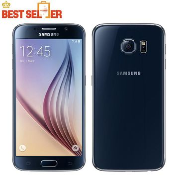 "Samsung Galaxy S6 Original Unlocked 4G GSM  Mobile Phone G920F Octa Core 5.1"" 16MP 3GB RAM 32GB ROM refurbished phone"