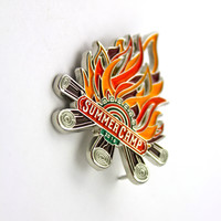 The Official 2016 Summer Camp 'Campfire' Hat Pin
