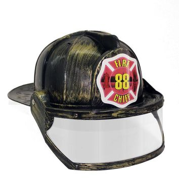 Paint Fireman Costume Firefighter Role Play  Toy Hat  cosplay Fire Extinguisher caps Role Play
