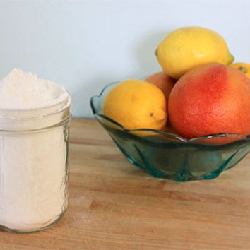 Homemade Citrus Bathroom Scrub