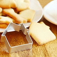 Cookies Cake House and Star Design Baking Mold 10 pcs set