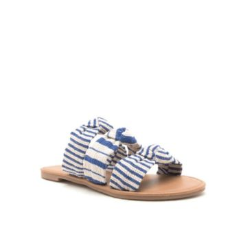 Women's Triple Knotted Slide Sandals