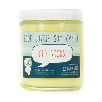 Old Books - Candle