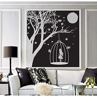 Wall Sticker Holiday Items Hobbies Music Cinema Wine Photo Money Vinyl Unique Gift (n421)