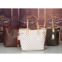 LV Louis Vuitton Classic Women's High Quality Two-Piece Tote Bag F