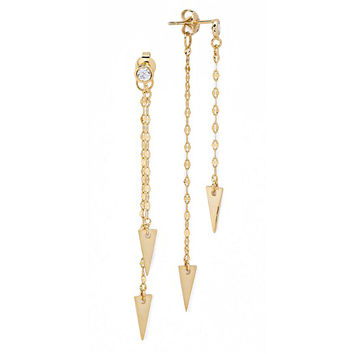 Tai Jewelry Earrings | Gold Arrow Earrings