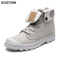 2017 Spring Unisex Military Tactical Boots Desert Combat Army Travel Canvas Casual Shoes Ankle Women Botas Femininas 35-44