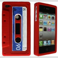 Generic Carrying Case for iPhone 4 - Non-Retail Packaging - Red