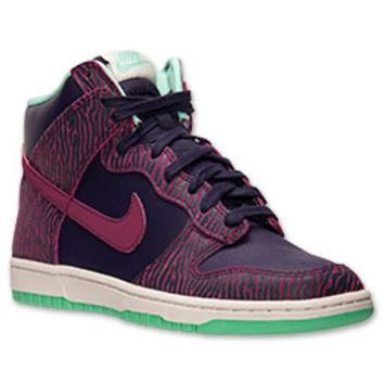 Women's Nike Dunk High Skinny Casual Shoes