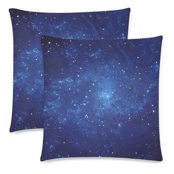 """Deep Space Throw Pillow Covers 18""""x 18"""" (Set of 2)"""