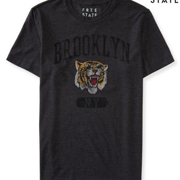 Free State Brooklyn Tiger Graphic T