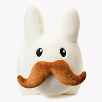 "Stache Labbit 24"" Stuffed Animal Plush"