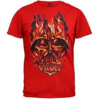 Star Wars - Flaming Vader Juvy T-Shirt