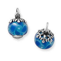 Winter Finial with Blue Swirl Charm | James Avery