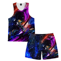 Galactic Waves Tank and Shorts Rave Outfit