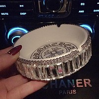 Chrome Hearts Fashion Ceramic Diamonds Cigarette Ashtray