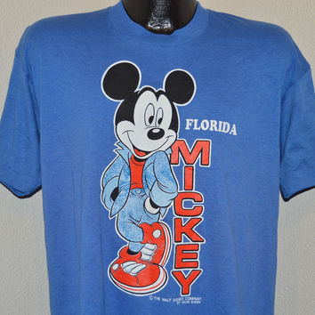 80s Mickey Mouse Florida Disney World t-shirt Extra Large