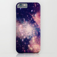 galaxy. iPhone & iPod Case by Pink Berry Patterns