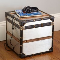 Collector's Metal Trunk