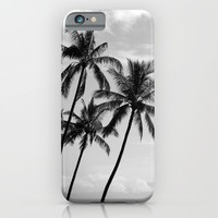 Palm Trees Hawaii iPhone & iPod Case by Derek Delacroix